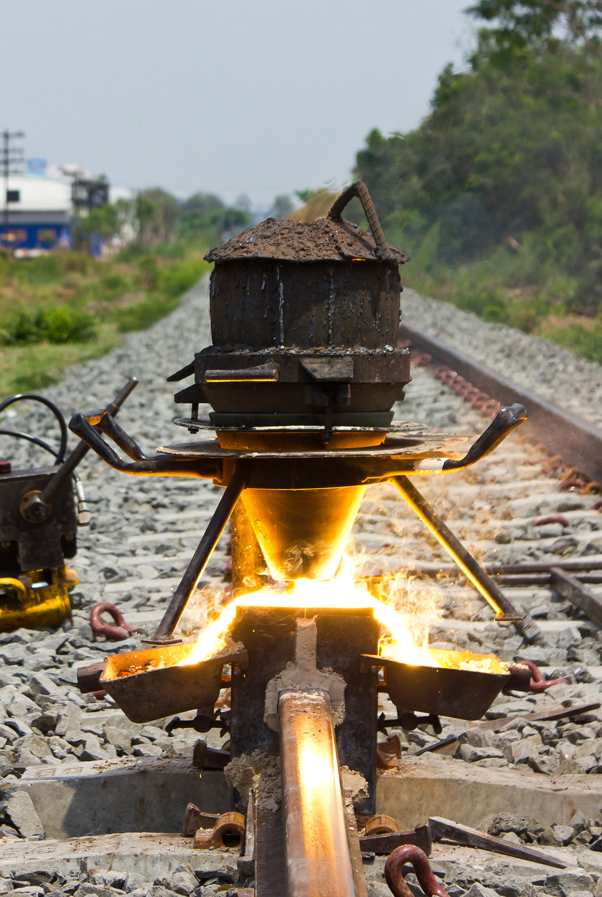 Gas Cutting Equipment For Railways And Transportation
