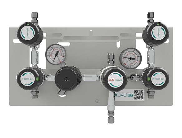 LOW FLOW RANGE - DUAL STAGE - PROCESS GAS PURGING SYSTEM page image