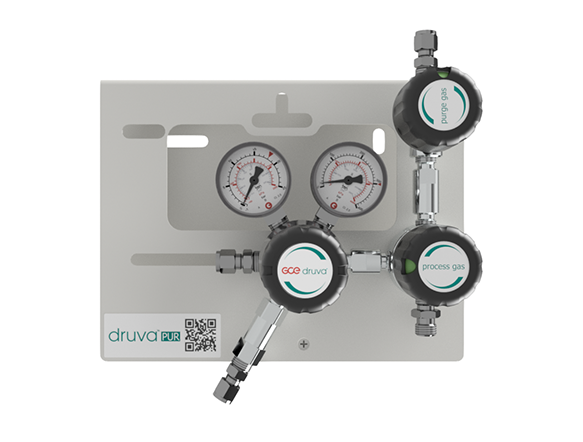 LOW FLOW RANGE - SINGLE STAGE - PROCESS GAS PURGING SYSTEM page image