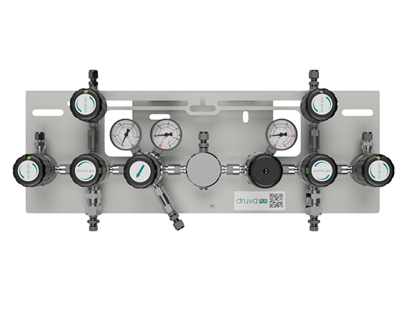 LOW FLOW RANGE - SINGLE STAGE - EXTERNAL GAS PURGING SYSTEM page image