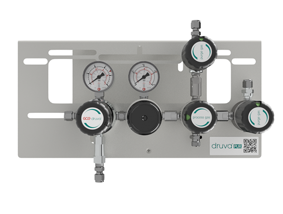 LOW FLOW RANGE - DUAL STAGE - EXTERNAL GAS PURGING SYSTEM page image