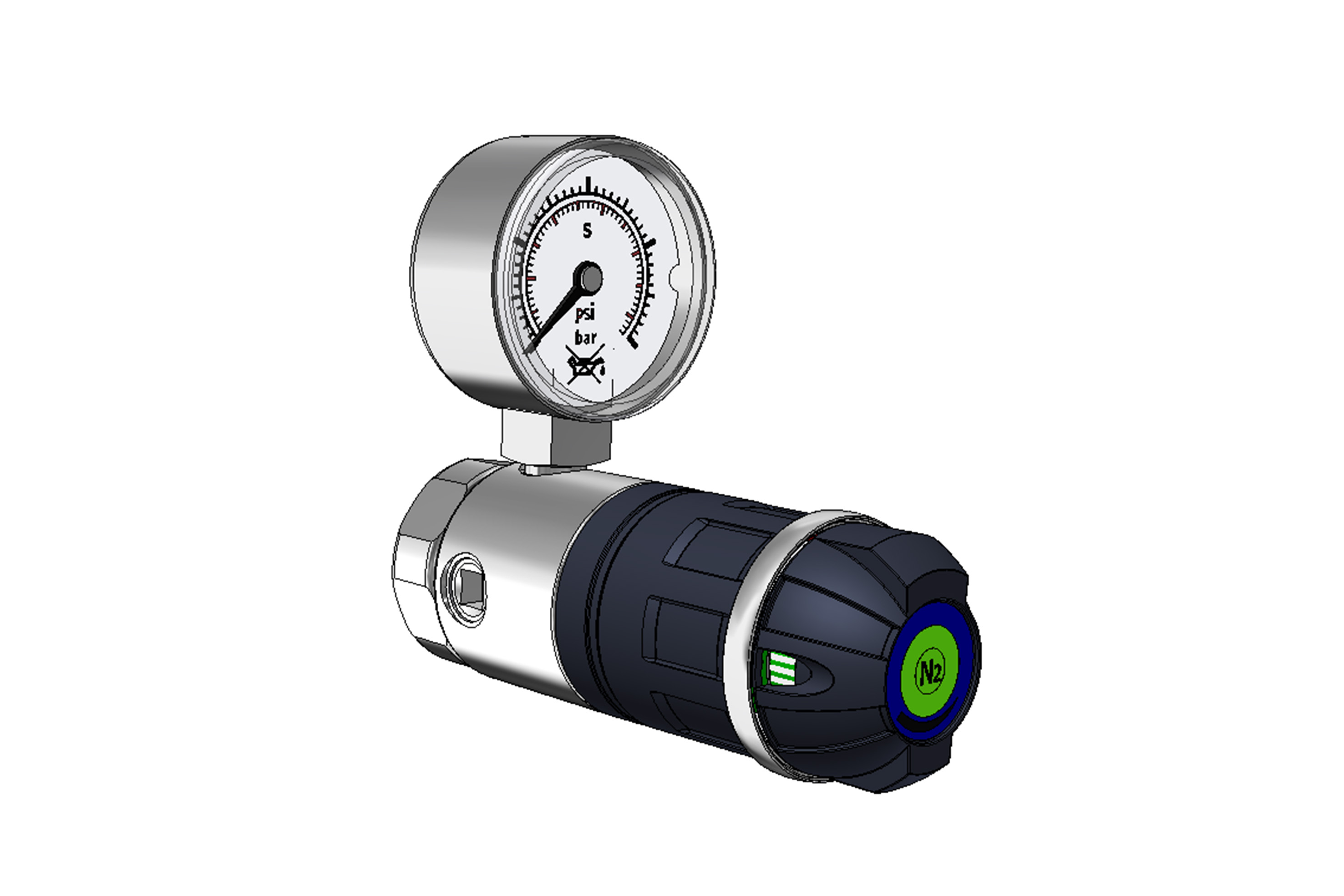 LABORATORY PRESSURE REGULATORS EMD 3100 - SURFACE MOUNTED page image