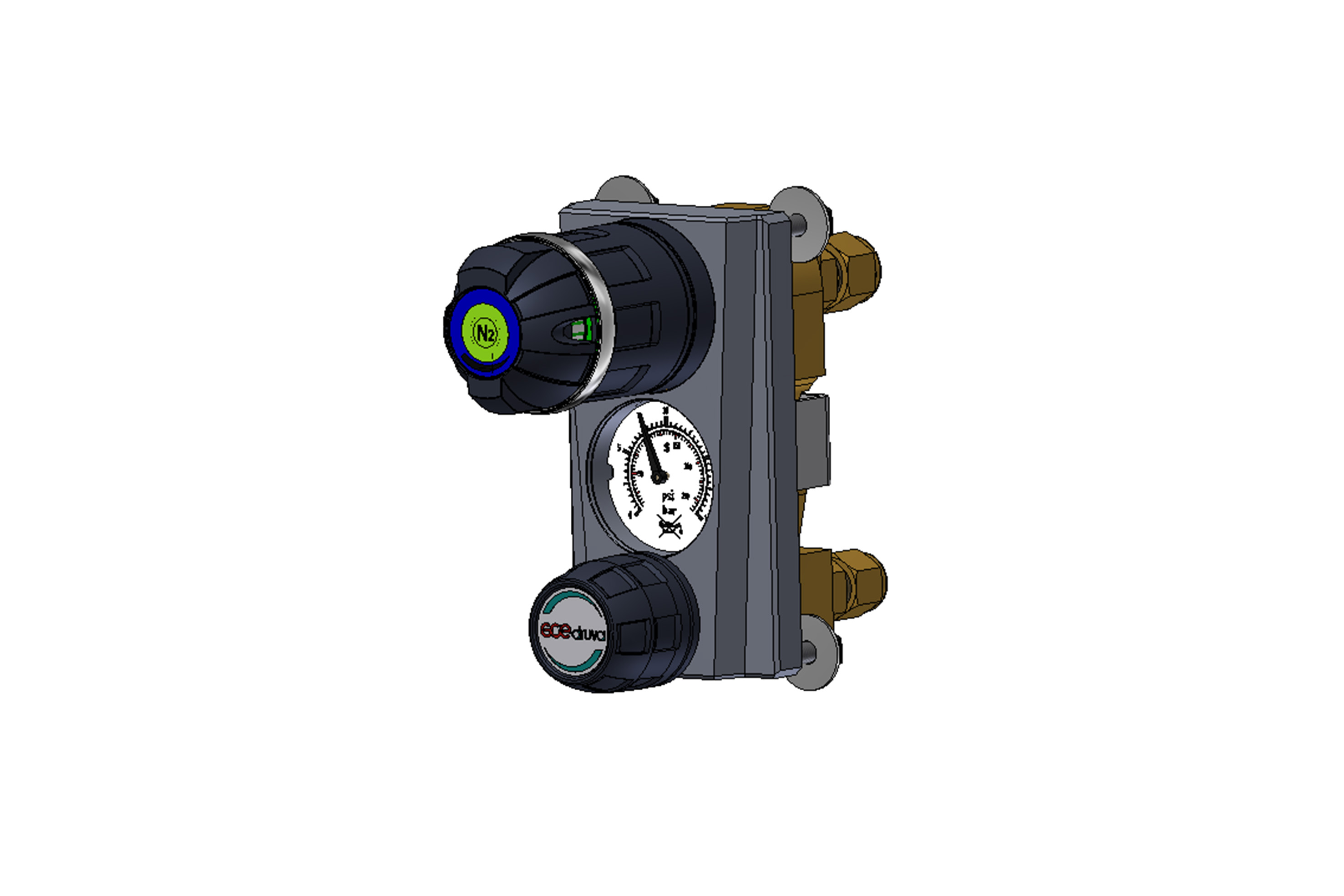 LABORATORY PRESSURE REGULATORS EMD 3100 - BUILT-IN VERSIONS D AND Z page image
