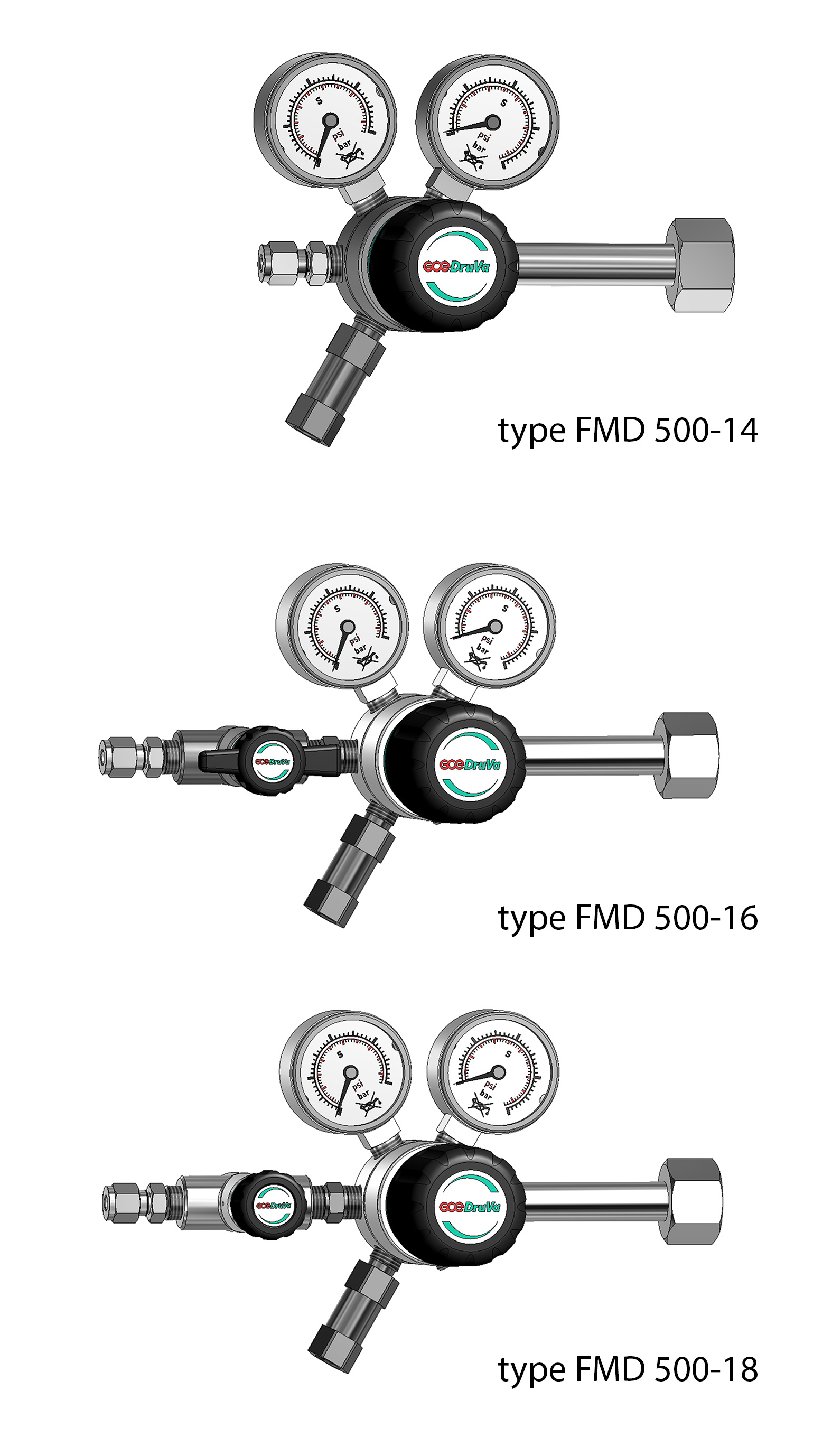 FMD 500 SINGLE STAGE REGULATOR 6.0 page image