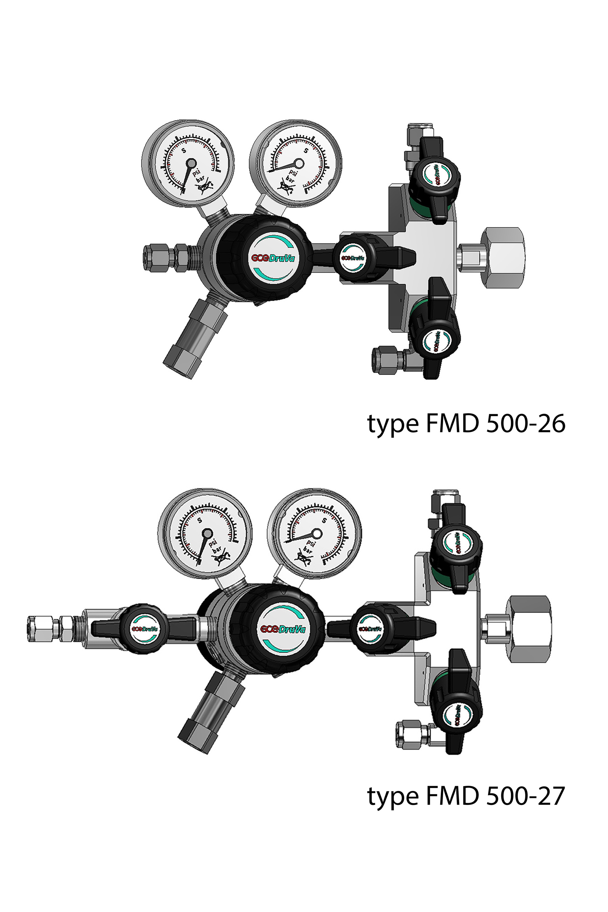 FMD 500 1-STAGE REGULATOR INERT PURGING page image