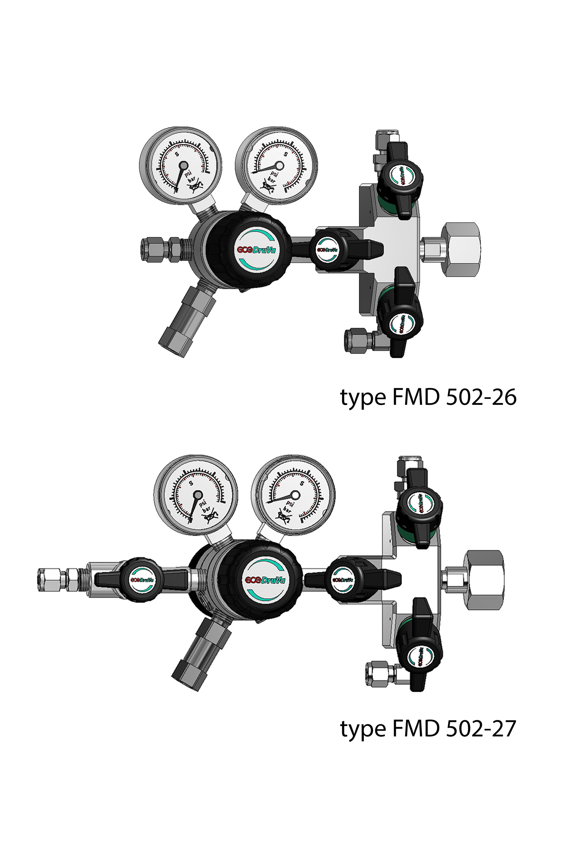 FMD 502 2 - DUAL STAGE REGULATOR 6.0 INERT PURGING page image