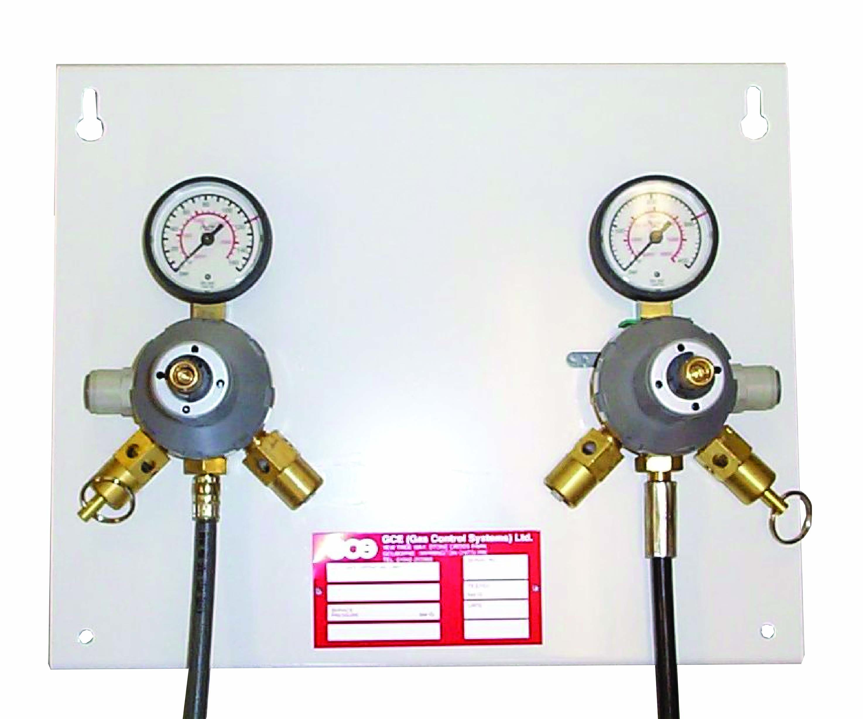 MIXED GAS REGULATOR WITH CO2 REGULATOR PANEL page image
