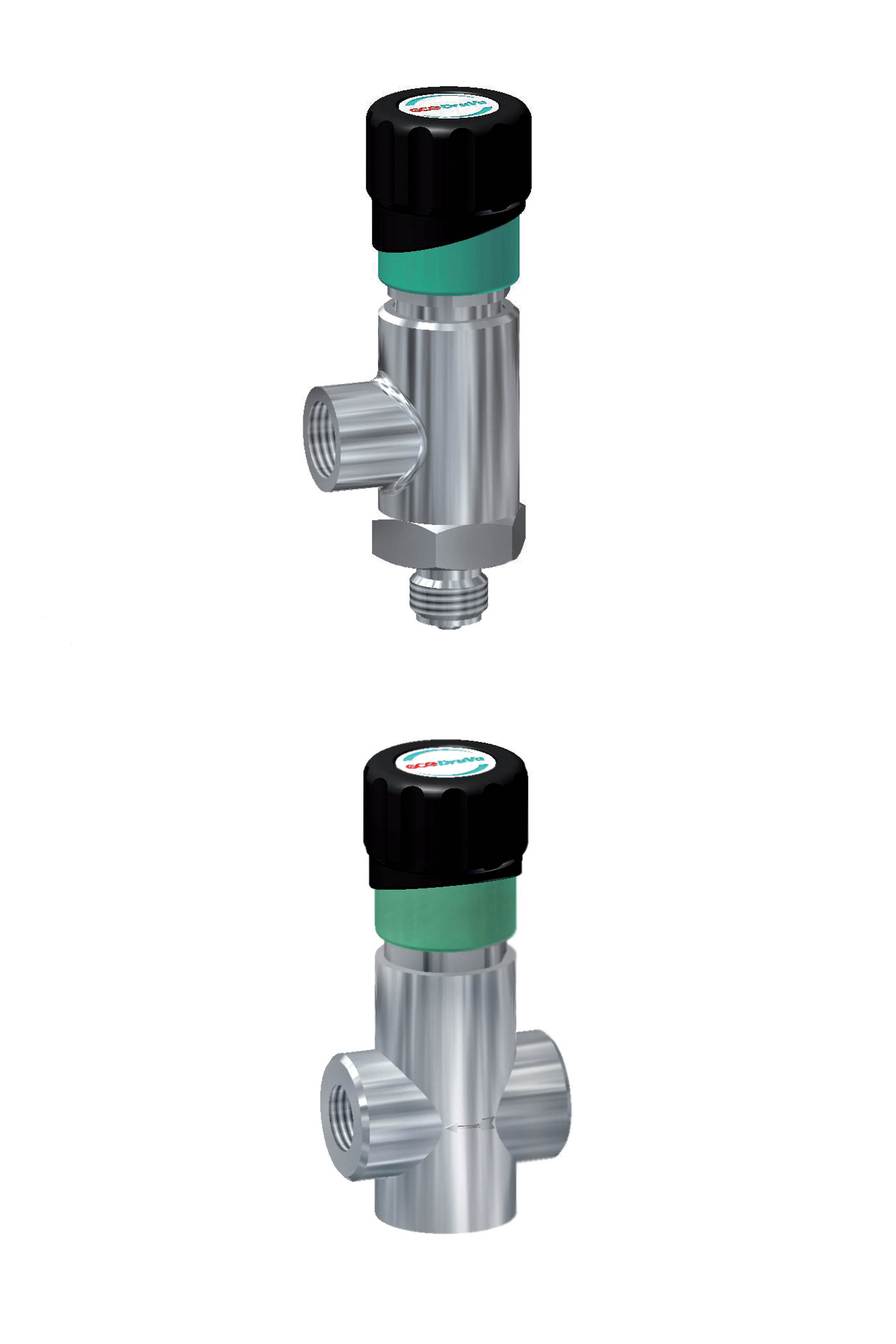 Diaphragm shut off and regulating valve page image