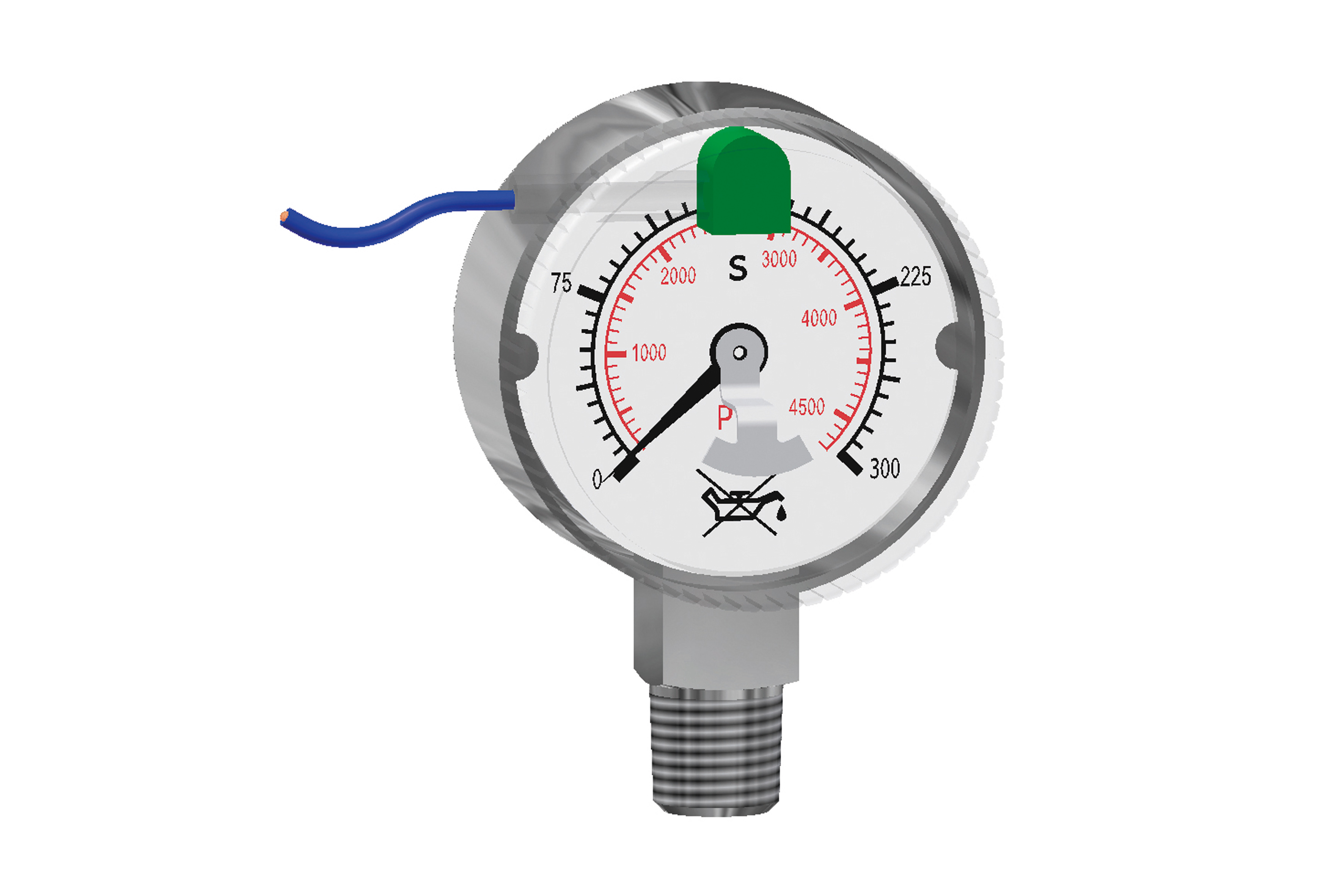 "CONTACT GAUGES KI 50 - NPT 1/4"" page image"