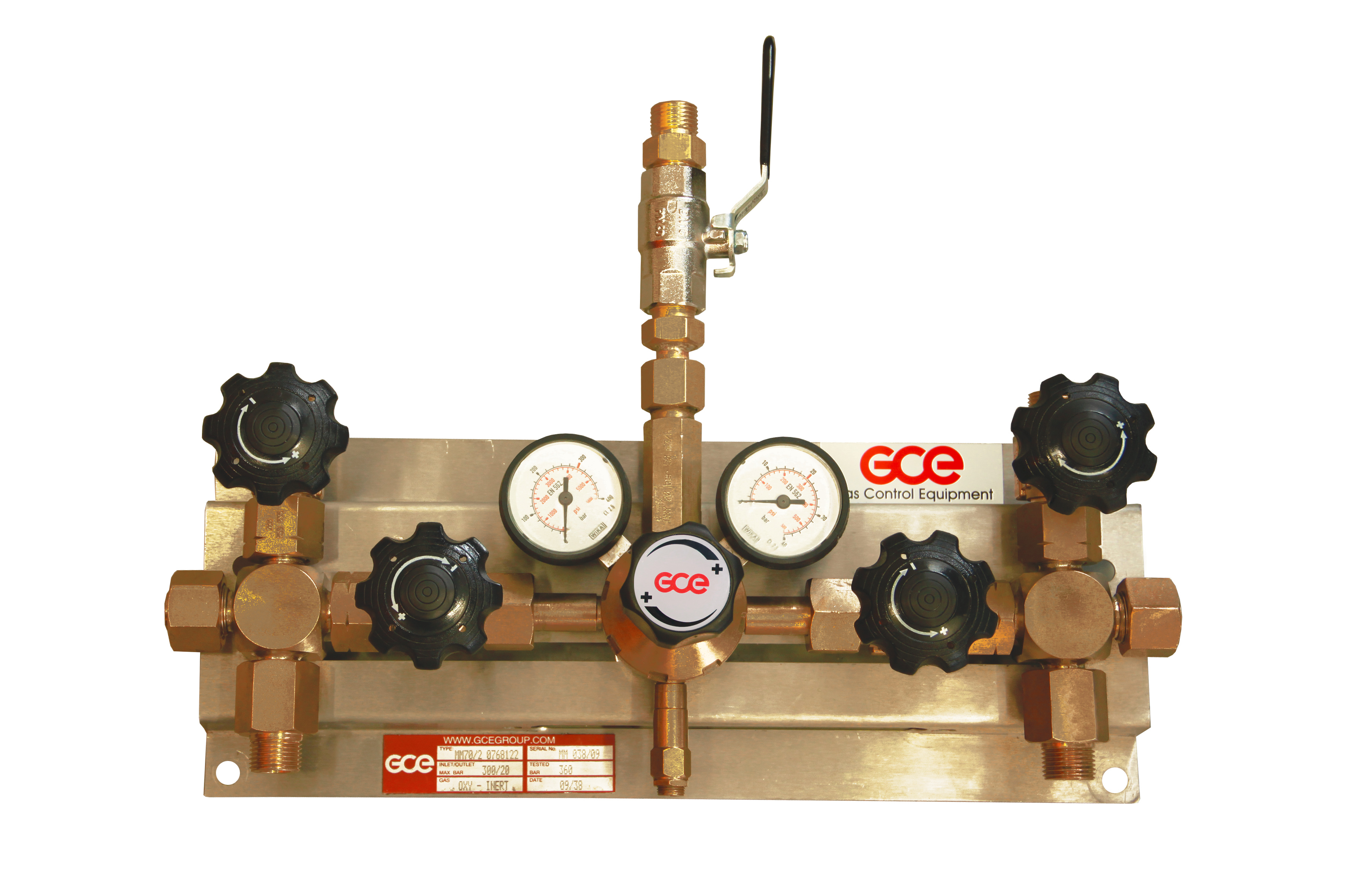 High Pressure Manifold : Mm from gce group leading manufacturer of gas flow