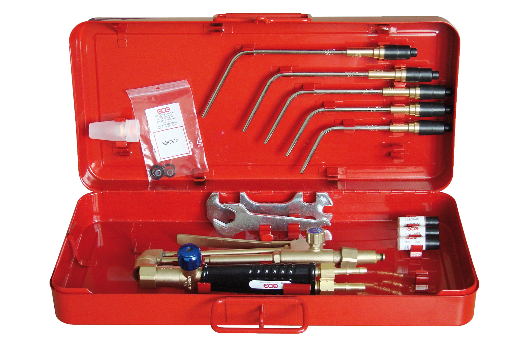 CUTTING&WELDING SET U7 ACE ECO page image