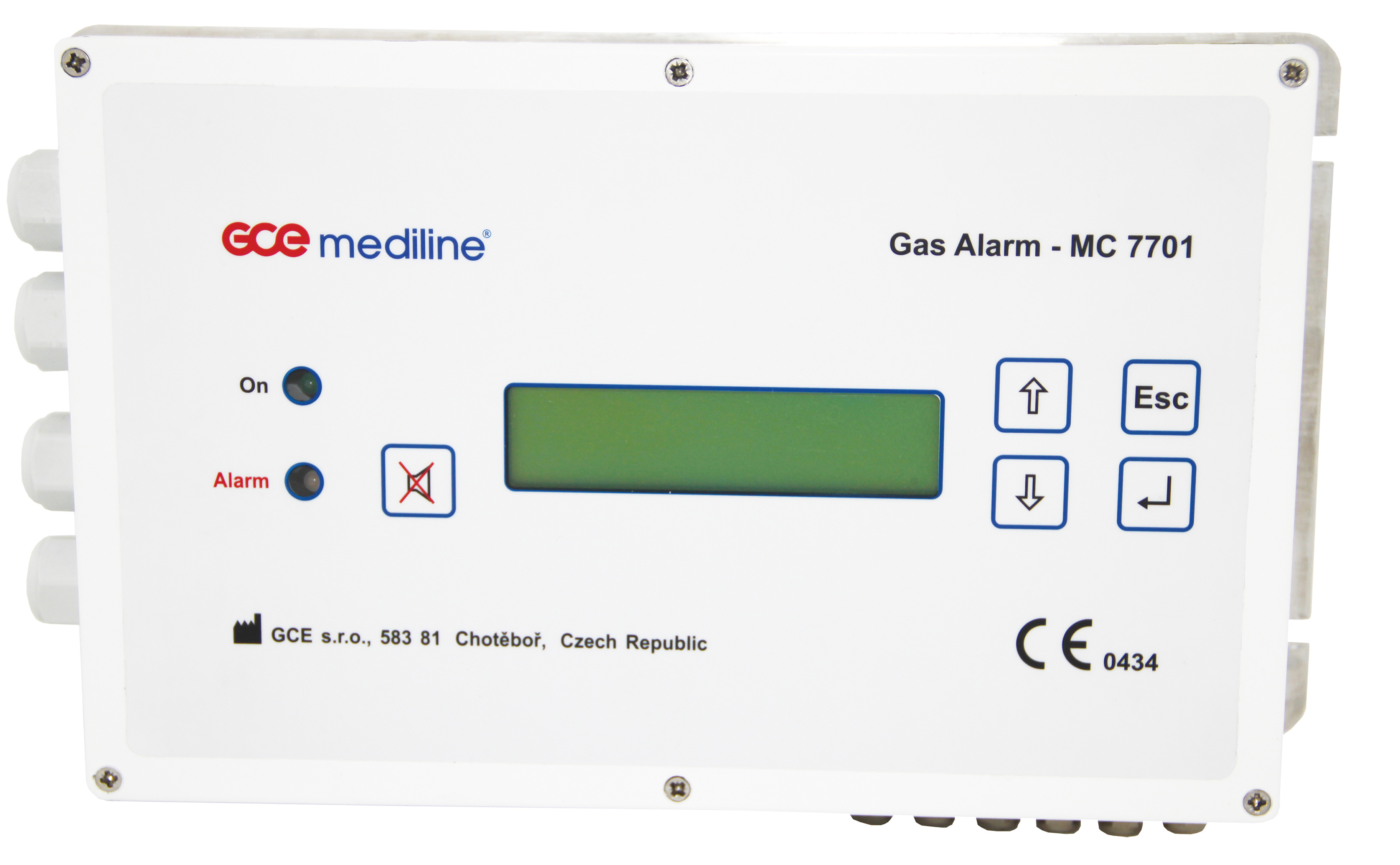 GAS ALARM MC7701 page image