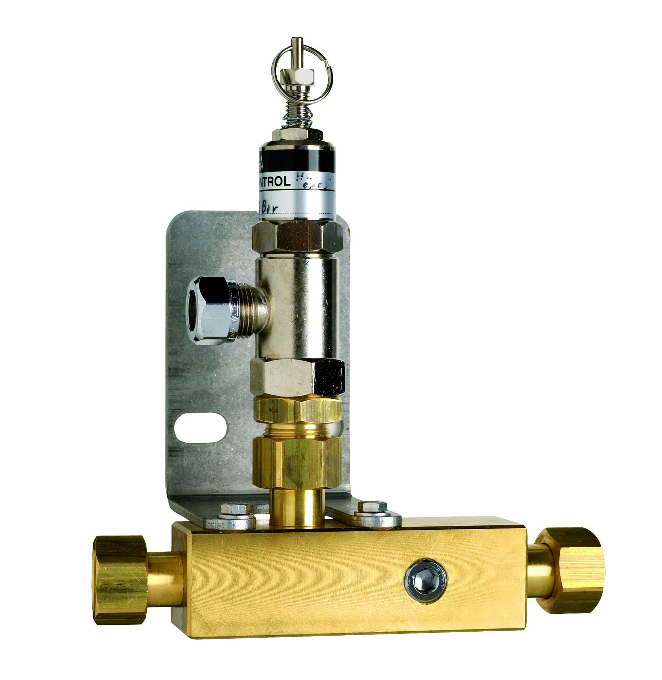 Pressure Relieve Valves for Medical Pipeline Systems