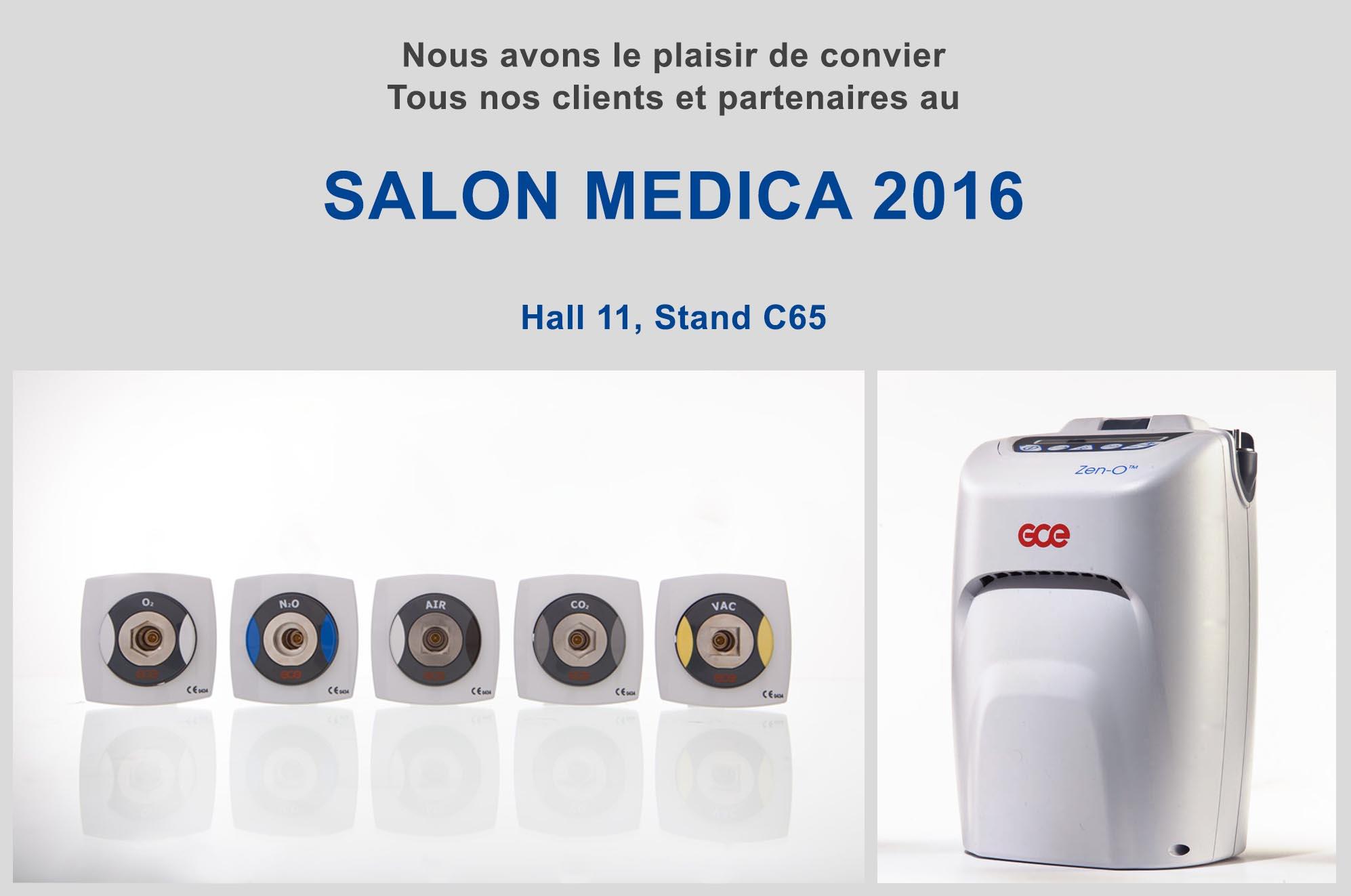 Rejoignez gce au salon medica 2016 for Salon medica