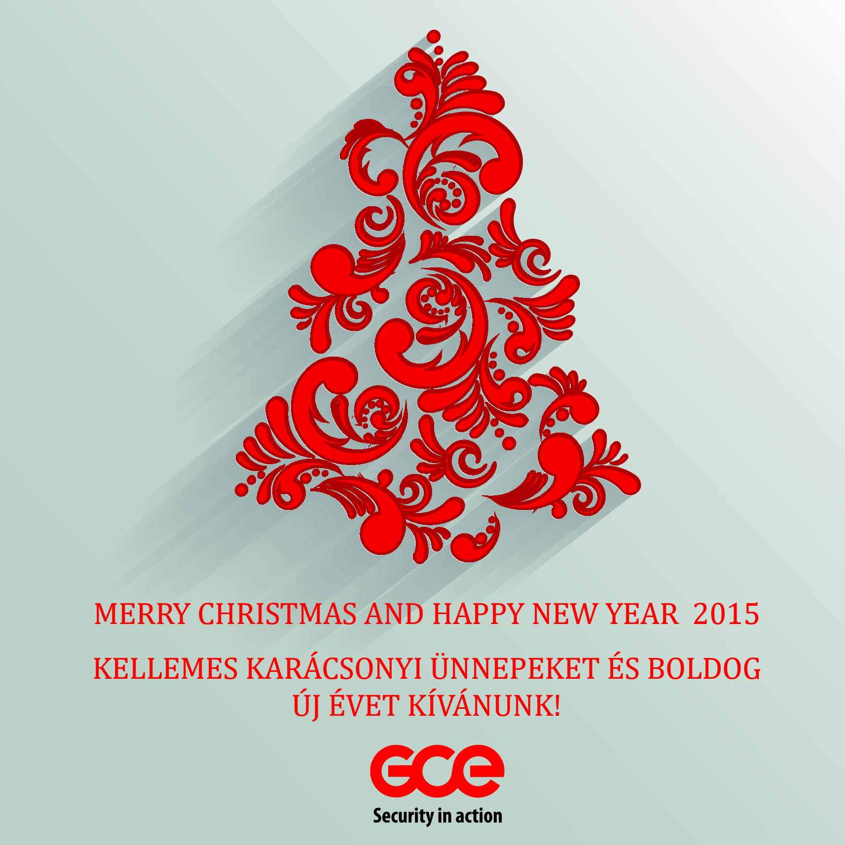 merry christmas and happy new year in hungarian