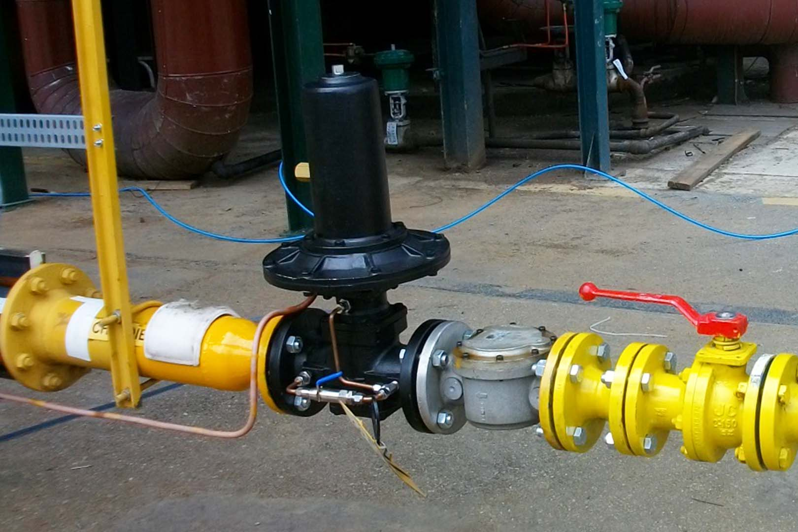CENTRAL GAS SYSTEM - High Flow Regulators page image