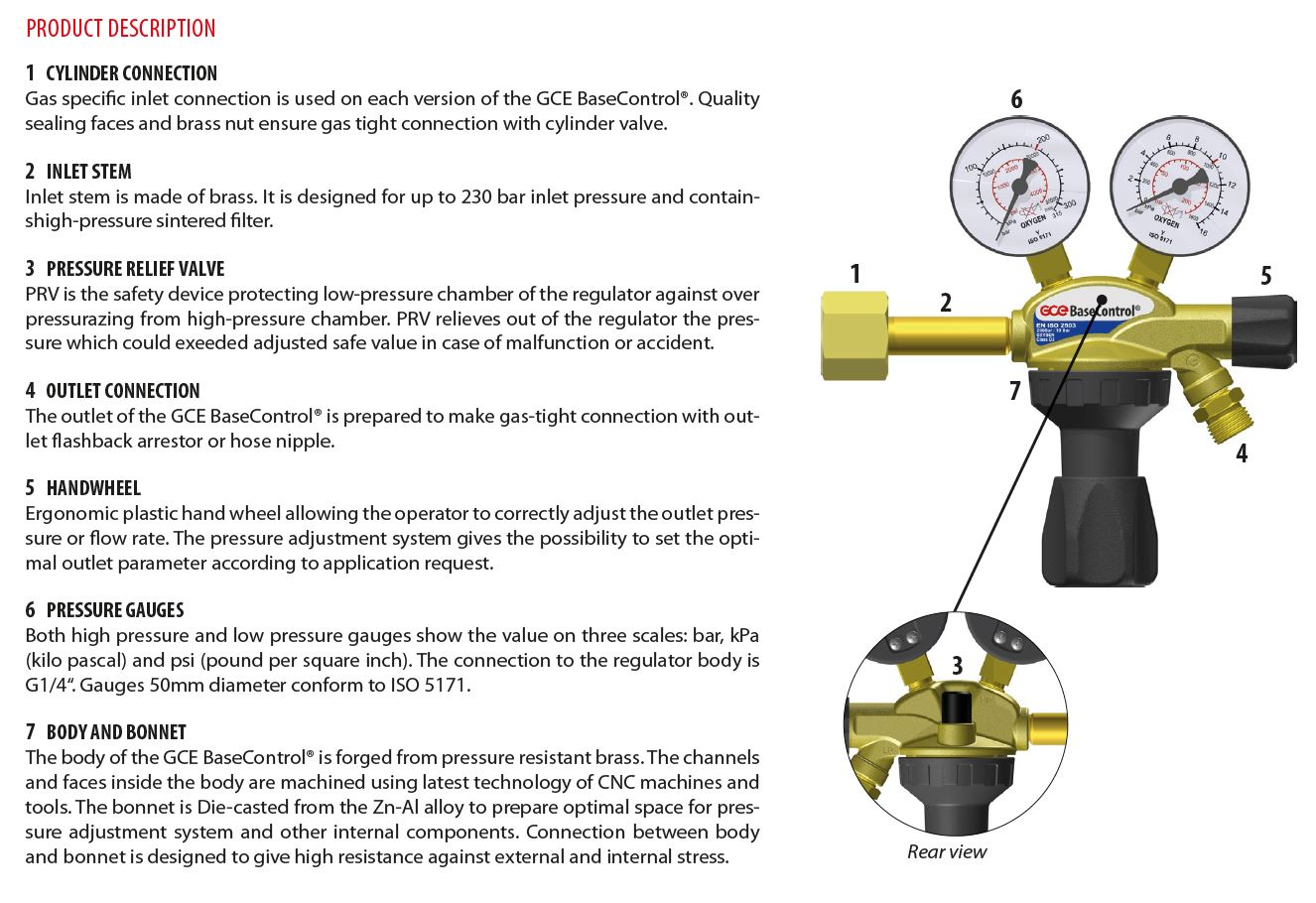 BASECONTROL® DIN from GCE Group, leading manufacturer of gas flow